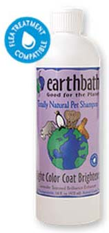 Earthbath Light Colour Coat Brightener Shampoo