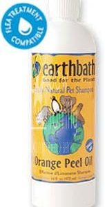 Earthbath Orange Peel Oil Shampoo