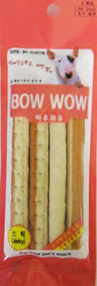 Bow Wow Cheese & Salmon Stick