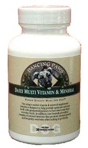 Dancing Paws Daily Multi Vitamin & Mineral For Dog