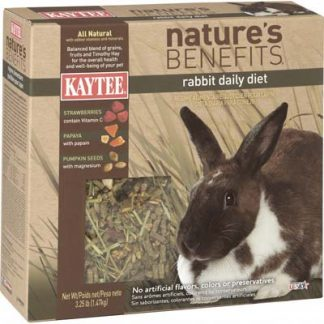 Kaytee Nature's Benefits Rabbit Daily Diet