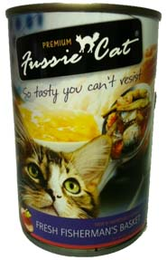 Fussie Cat Fresh Fisherman's Basket