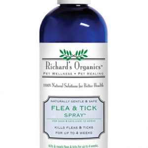Richard's Organics Natural Flea & Ticks Spray