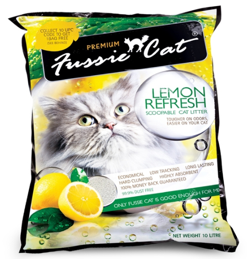 Fussie Cat Litter Lemon Refresh
