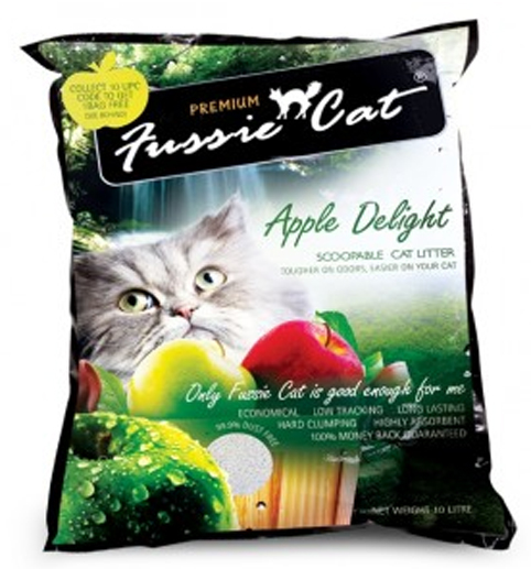 Fussie Cat Litter - Apple Delight