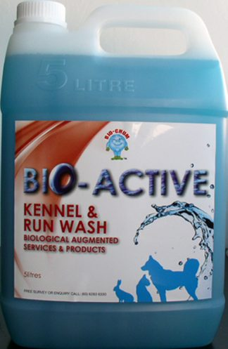Bio Chum - Bio-Active Kennel Run and Wash