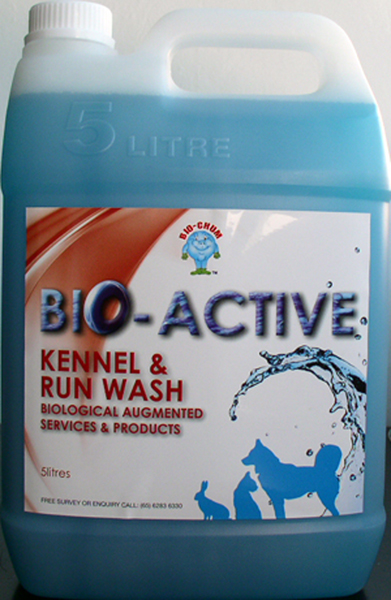 Bio Chum – Bio-Active Kennel Run and Wash