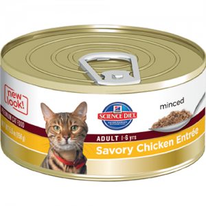 Science Diet Feline Canned Adult Liver & Chicken Entrée - 5.5oz x 24
