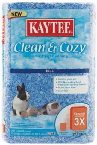 Kaytee Clean & Cozy Bedding - Blue