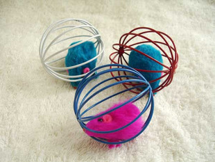 Boazz Cat Toy - Mouse in Ball