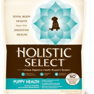 Holistic Select - Puppy Health - Anchovy, Sardine & Chicken Meal - 30lb