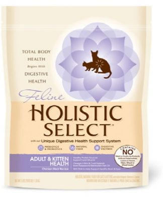 Holistic Select Radiant Adult & Kitten Health Chicken Recipe Dry Cat Food