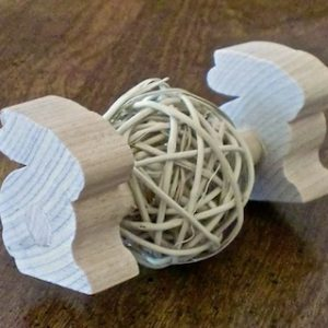 Busy Bunny - Mini Bunny Willow Ball Rattle