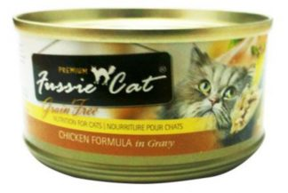 Fussie Cat Premium Grain Free Chicken with Gravy
