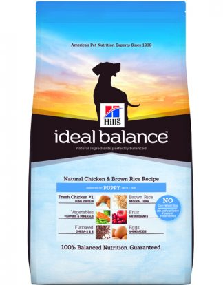 Hill's Ideal Balance Natural Chicken & Brown Rice Recipe Puppy  - 4lbs