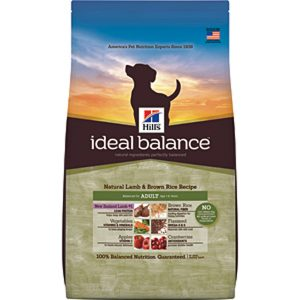 Hill's Ideal Balance Canine Natural Lamb & Brown Rice Recipe Adult - 3.5lbs
