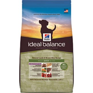 Hill's Ideal Balance Canine Natural Lamb & Brown Rice Recipe Adult