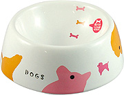 Marukan Pet Feeder Decorative Porcelain Bowl (M)