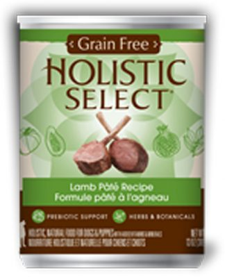 Holistic Select Dog Can - Lamb Pate Recipe (Grain Free)