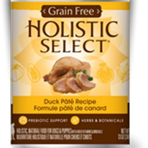 Holistic Select Dog Can - Duck Pate Recipe (Grain Free)
