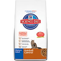 Science Diet Feline Mature Hairball Control