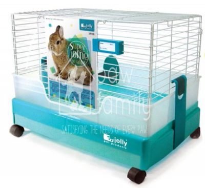 Jolly Super Home for Rabbit Blue