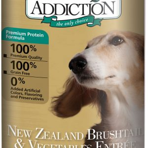 Addiction NZ Brushtail & Vegetables Entree (Grain Free) Dog Canned Food