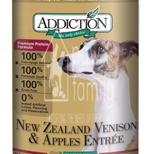 Addiction NZ Venison & Apples Entree (Grain Free) Dog Canned Food