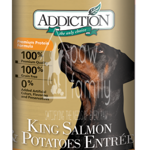 Addiction King Salmon & Potatoes Entree (Grain Free) Dog Canned Food