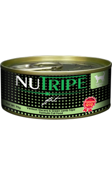 Nutripe Fit Cat Cans - Venison Viscera & Green Lamb Tripe Formula