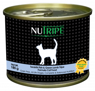 Nutripe Terakihi with Green Tripe Canned Cat Food