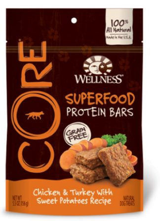 Wellness Core Superfood Protein Bars - Chicken & Turkey with Sweet Potatoes