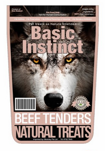 basic instinct beef tenders package