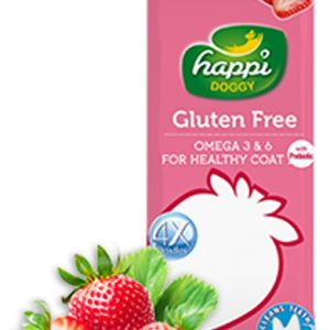 HappiDoggy Dental Chews - Strawberry