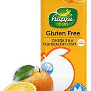 HappiDoggy Dental Chews - Orange