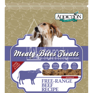 Addiction Beef Meaty Bites