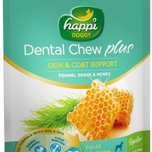 HappiDoggy Dental Chews - Skin & Coat Support