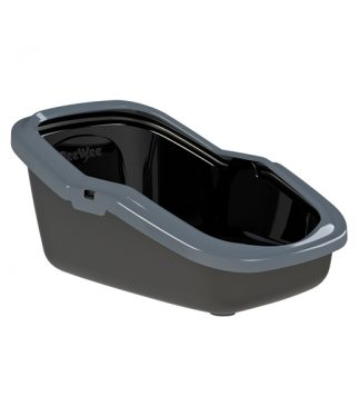PEEWEE Litter Tray System - Eco Minor (Anthracite Black/Grey)