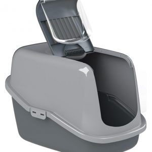 PEEWEE Litter Tray System - Eco Hus (Anthracite Grey / Grey)