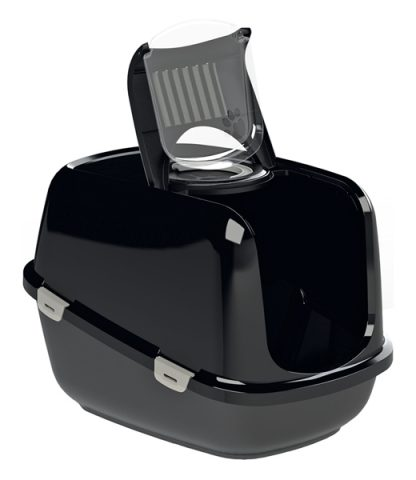 PEEWEE Litter Tray System - Eco Dome (Black)