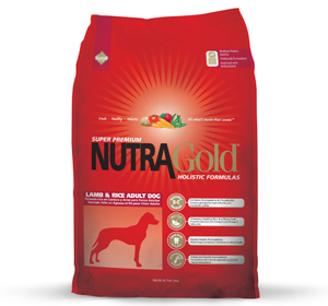 NutraGold Holistic Canine Adult Lamb & Rice