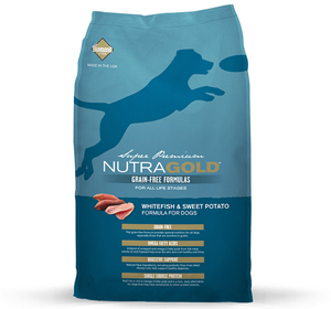 NutraGold Canine Grain Free Whitefish & Sweet Potato