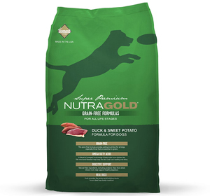 NutraGold Canine Grain Free Duck & Sweet Potato