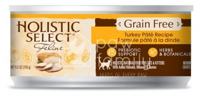 Holistic Select Grain Free Cat Canned – Turkey Pate