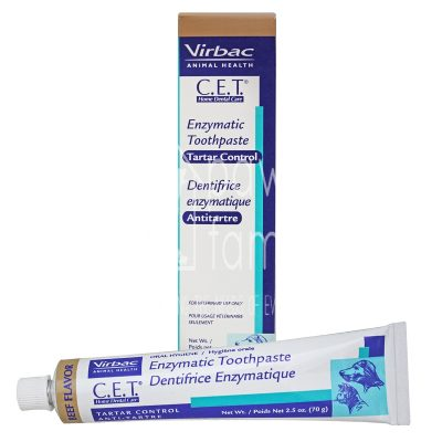 Virbac C.E.T. Enzymatic Toothpaste – Beef