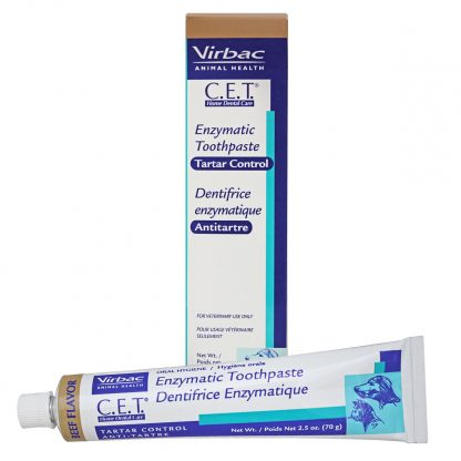 Virbac C.E.T. Enzymatic Toothpaste - Beef