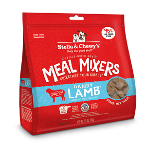 stella chewy meal mixer Lamb