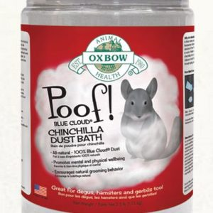 Oxbow Poof Chinchilla Dust Bath