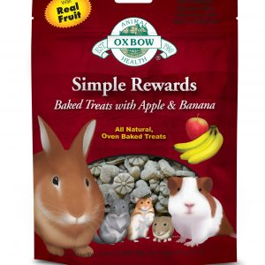 Oxbow Simple Rewards Baked Treats with Apple and Banana
