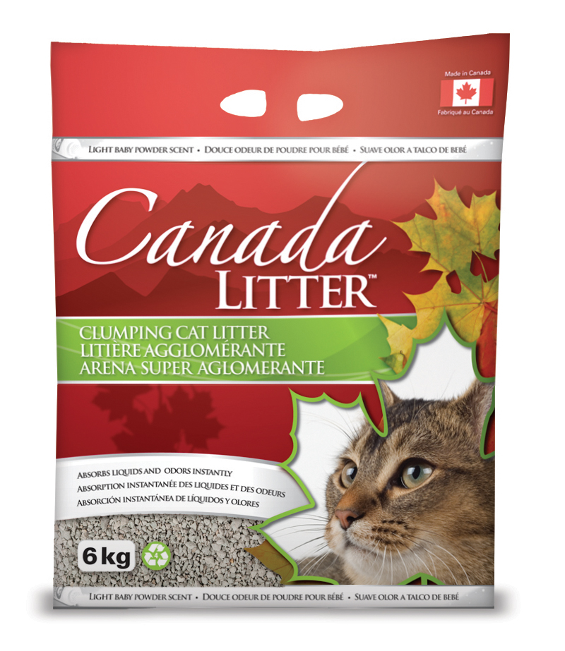Canada Cat Litter –  Baby Powder